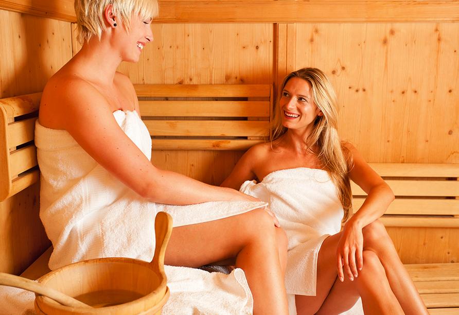 Hotel Habichtstein, Sauna