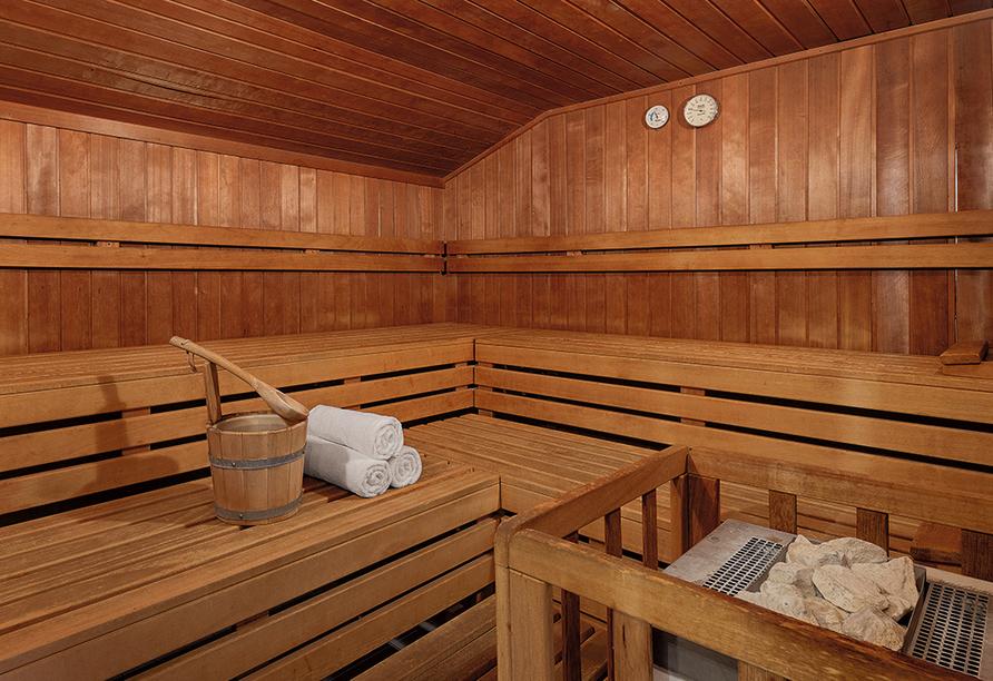 Best Western Aparthotel Birnbachhöhe in Bad Birnbach, Sauna