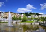 Spa Hotel Devin in Marienbad, Böhmisches Bäderdreieck, Tschechien, Marienbad