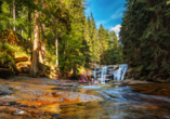Parkhotel Harrachov im Riesengebirge, Mumlava Wasserfall