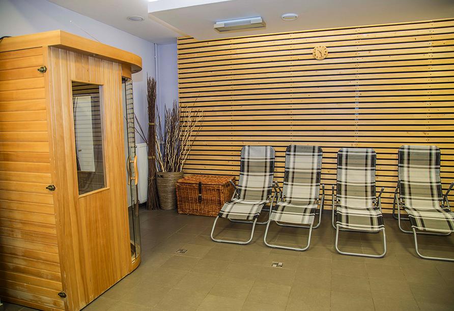 Parkhotel Harrachov im Riesengebirge, Sauna