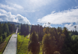Parkhotel Harrachov im Riesengebirge, Skisprungschanze