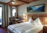 Hotel Almhof, Zimmerbeispiel
