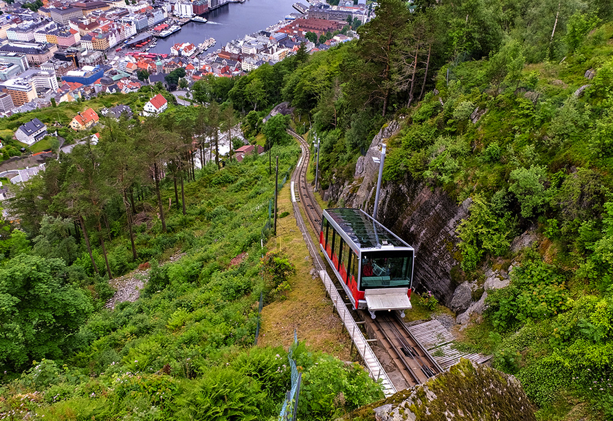 Norwegens Highlights, Fløybanen