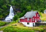 Norwegens Highlights, Steinsdalsfossen
