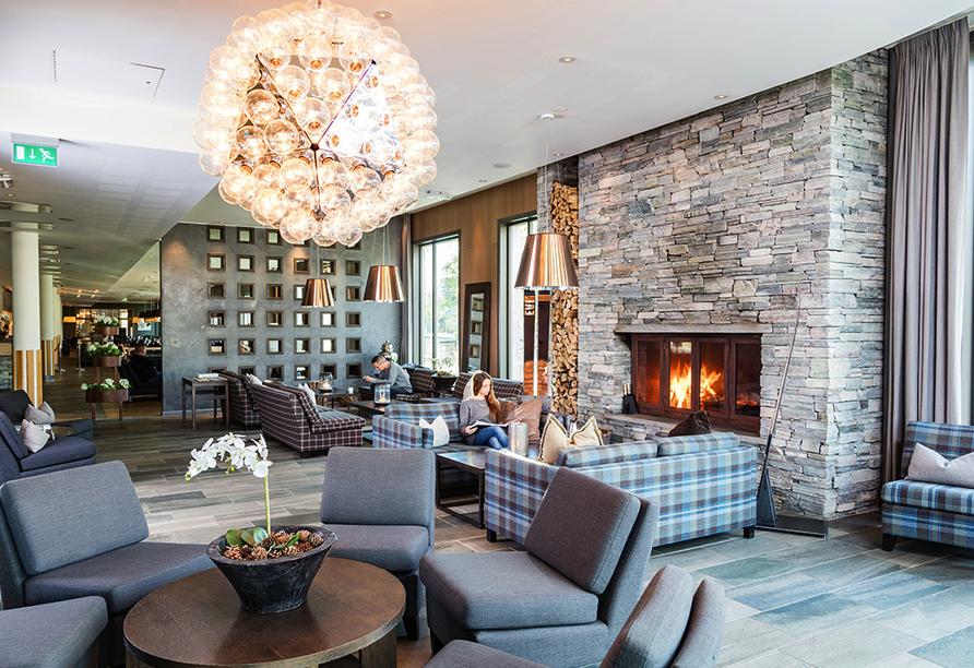 Norwegens Highlights, Beispielhotel Quality Hotel Skifer in Oppdal
