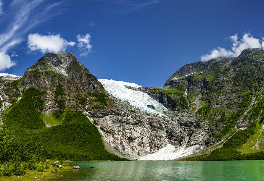 Norwegens Highlights, Bøyabreen Gletscher