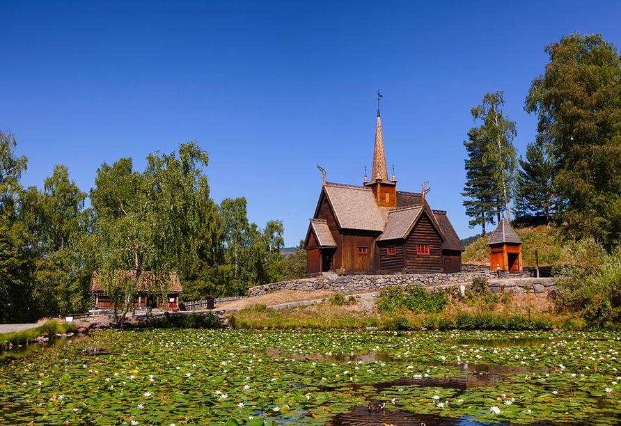 Norwegens Highlights, Lillehammer Gjovik Kirche