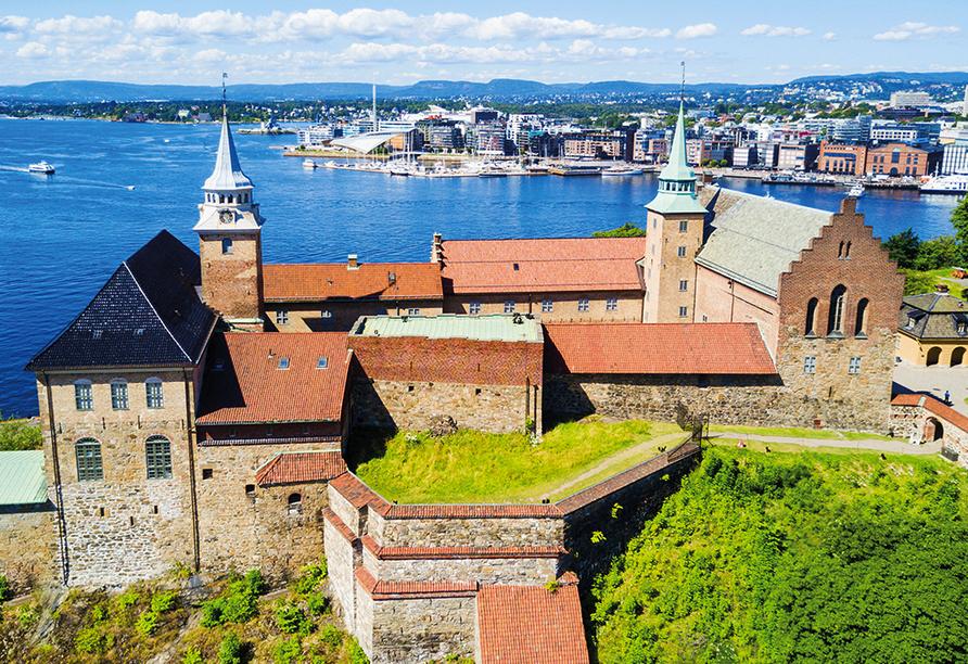 Color Line Minikreuzfahrt Kiel Oslo, Festung Akershus