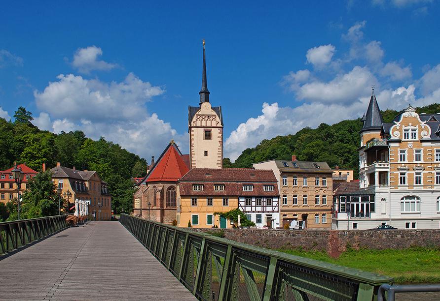 Victor's Residenz-Hotel Gera, Marienkirche und Untermhäuser Brücke