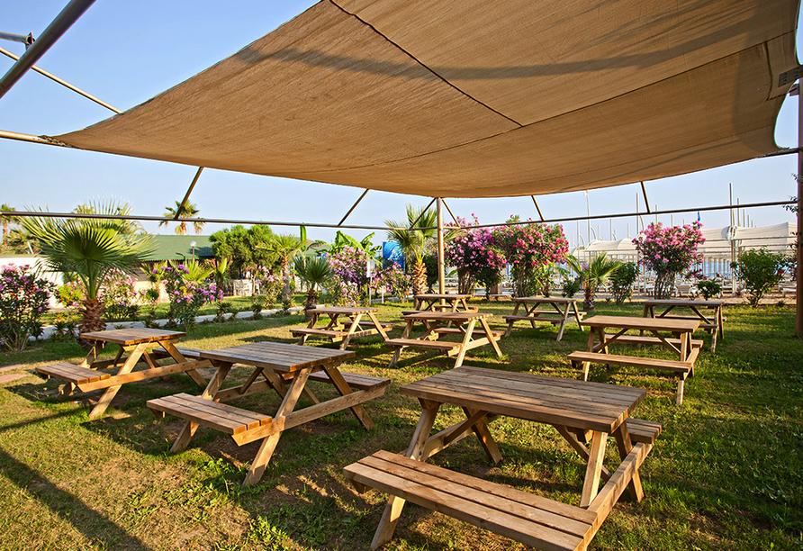 Hotel Titan Garden in Alanya, Hotelanlage
