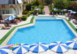 Hotel Titan Garden in Alanya, Poolbereich