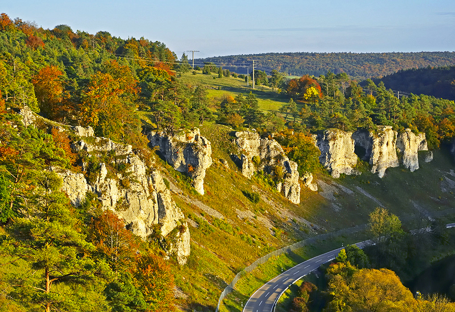 Altmühltal Panoramaweg, Naturdenkmal Zwölf Apostel