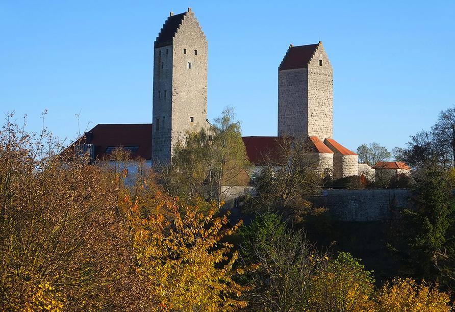Altmühltal Panoramaweg, Schloss Hirschberg in Beilngries