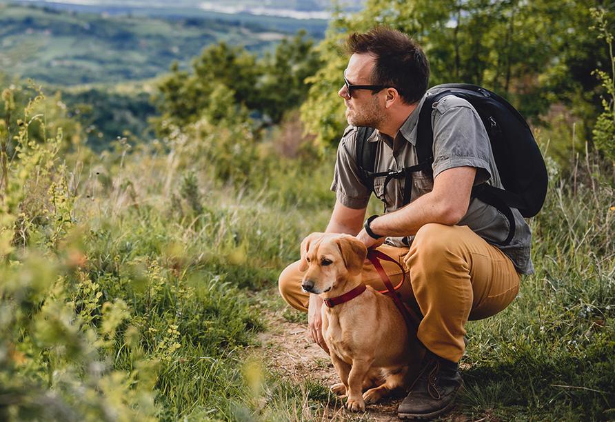 Altmühltal Panoramaweg, Wandern mit Hund