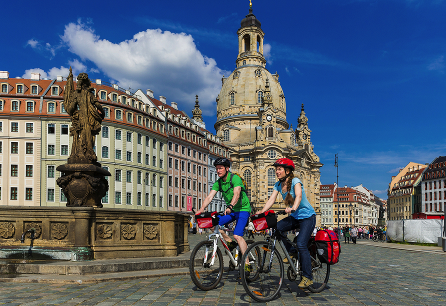 Elberadweg, Dresden