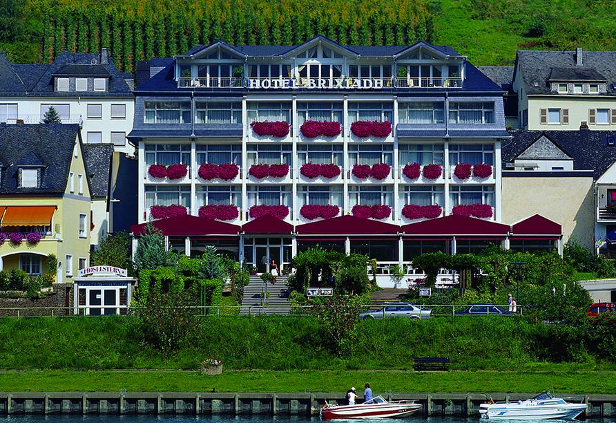 Moselstern Hotel Brixiade & Triton in Cochem, Außenansicht