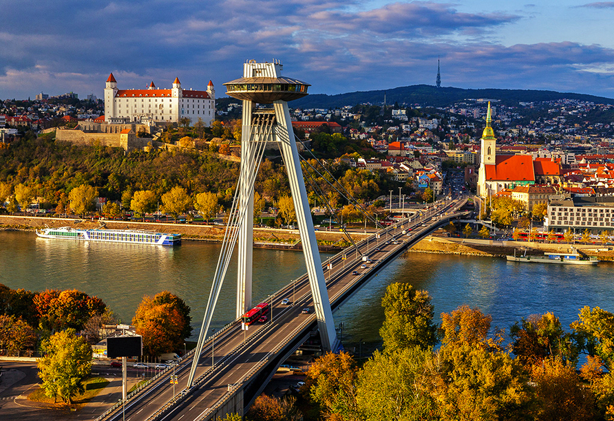 MS Alena, Ufo in Bratislava