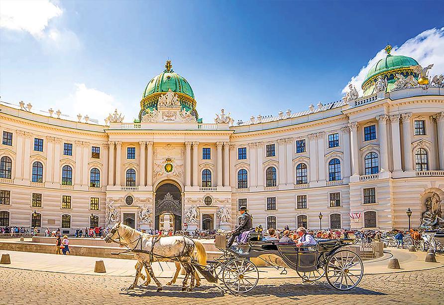 MS Alena, Hofburg in Wien