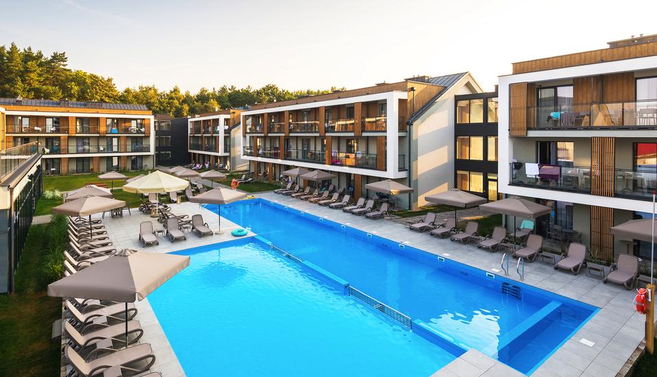 Saltic Resort & Spa, Gribow, Polnische Ostsee, Außenpool