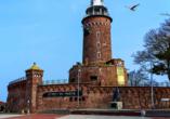 Saltic Resort & Spa, Gribow, Polnische Ostsee, Leuchtturm Kolberg