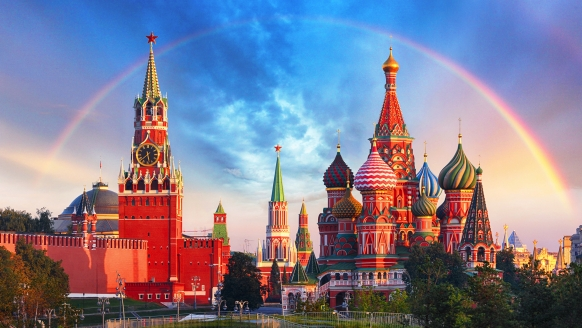 Kurzreise Russland, Roter Platz