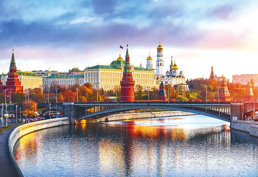 Kurzreise Russland, Moskau