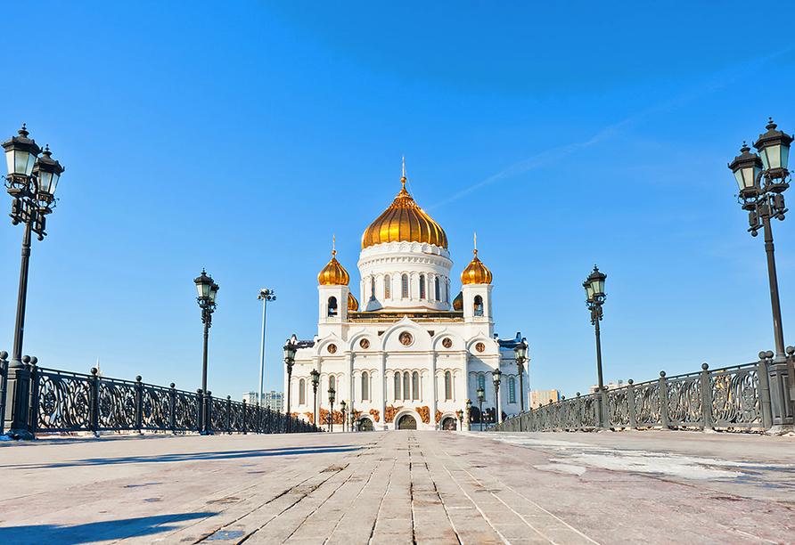 Kurzreise Russland, Christus Erlöser Kathedrale