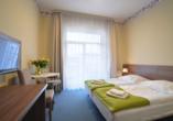Erholungszentrum Zorza in Kolberg, Polnische Ostsee, Zimmerbeispiel Doppelzimmer Standard