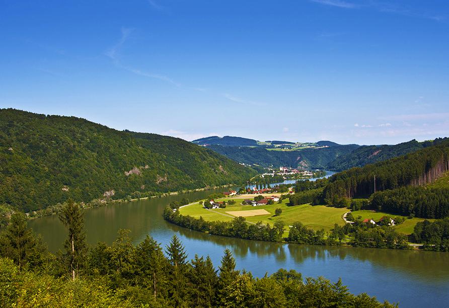 Hotel Höttl in Deggendorf im Donautal, Ausflugsziel Passau