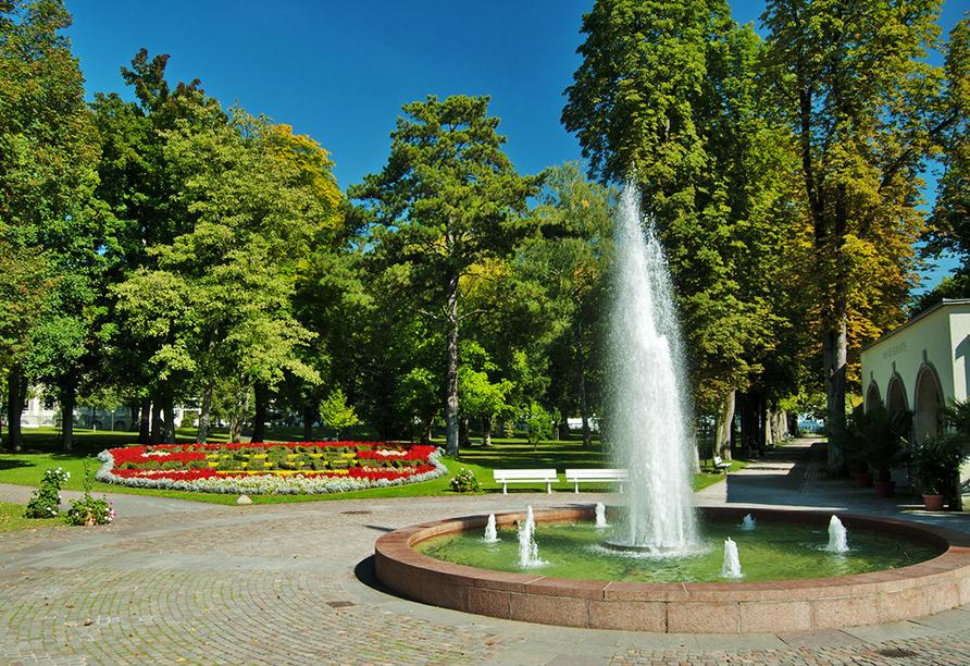 Best Western Premier Parkhotel Bad Mergentheim, Springbrunnen