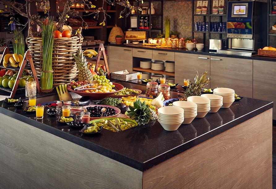Van der Valk Hotel Tiel, Frühstück