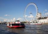 St. Giles Heathrow Hotel in London, River Cruise