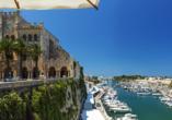 Hotel Gran Sagitario in Ciutadella de Menorca, Rathaus