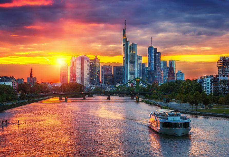 MS Andrea, Frankfurt Skyline
