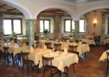 Relais Bayard in Susten im Wallis in der Schweiz, Pizzeria