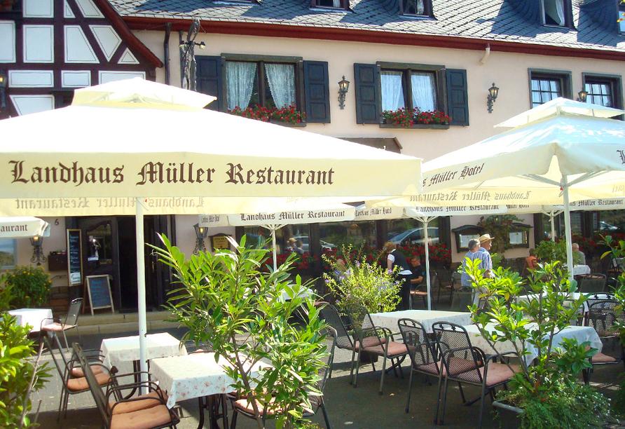 Landhaus Müller in Alken an der Mosel, Terrasse