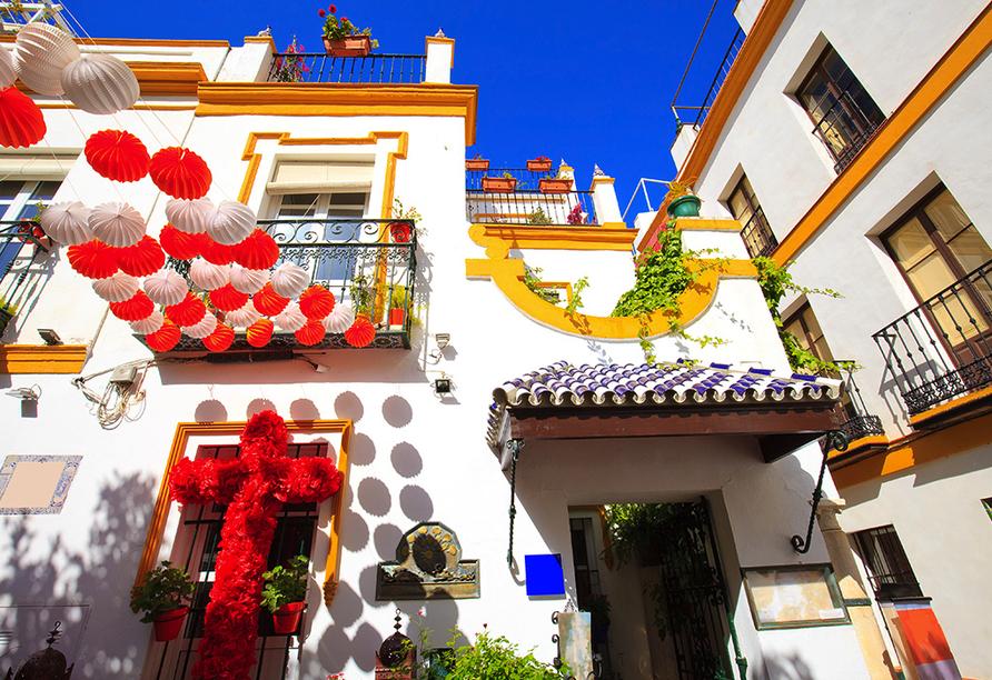 Busrundreise Temperamentvolles Andalusien, Santa Cruz