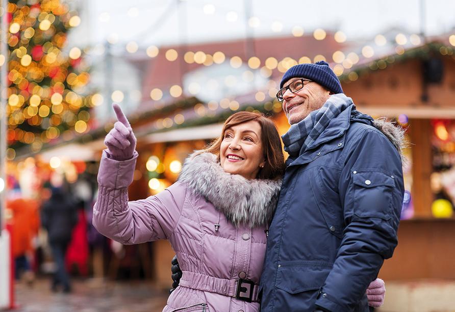 DCS Alemannia, Paar auf Weihnachtsmarkt