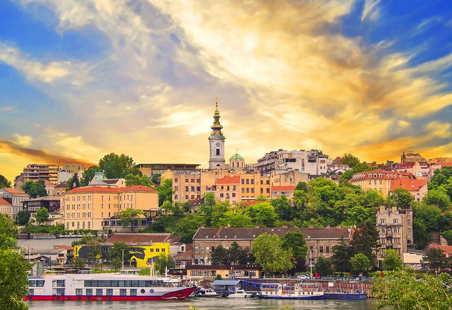 DCS Amethyst, Belgrad