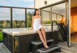 Hotel Siesta, Gribow, Polnische Ostsee, Whirlpool