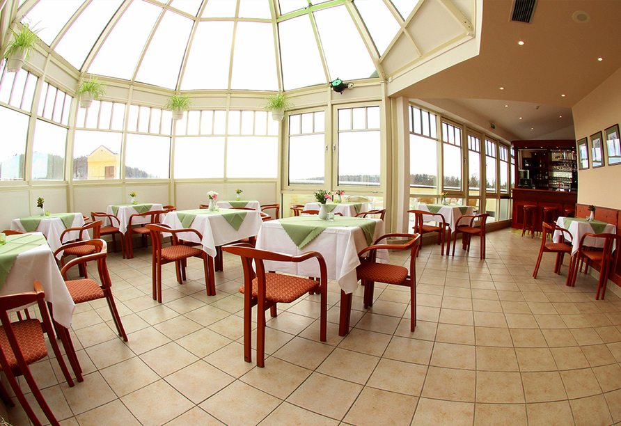 Hotel Flora, Marienbad, Tschechien, Restaurant