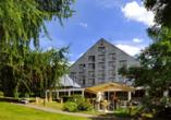 Hotel Krakonos in Marienbad, Außenansicht