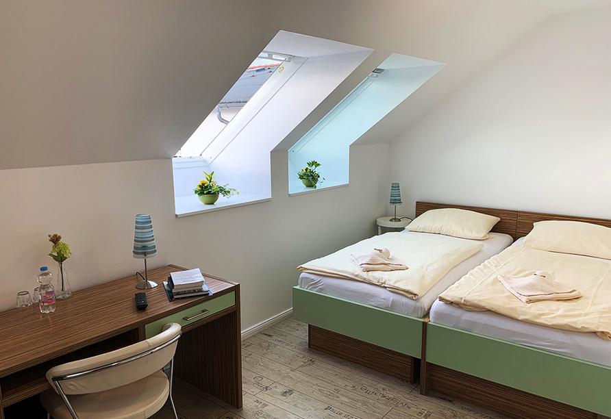 Parkhotel Putbus Rügen, Beispiel Doppelzimmer Comfort