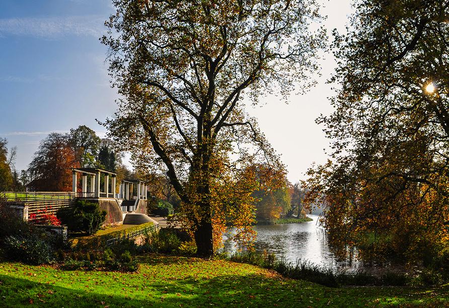 Parkhotel Putbus Rügen, Schlosspark