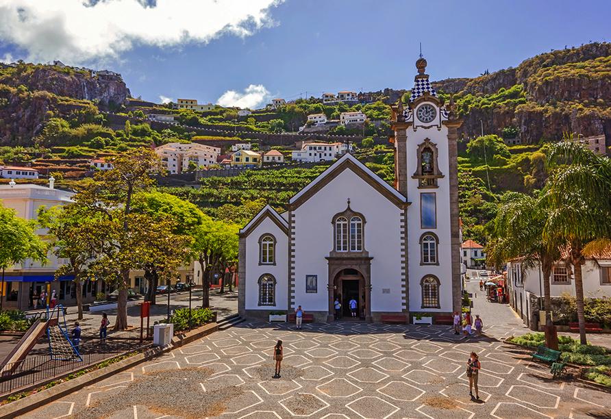Hotel Vila Baleira Funchal Madeira, Kirche Riberia Brava
