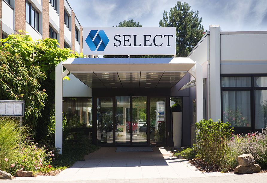 Select Hotel Mainz, Außenansicht
