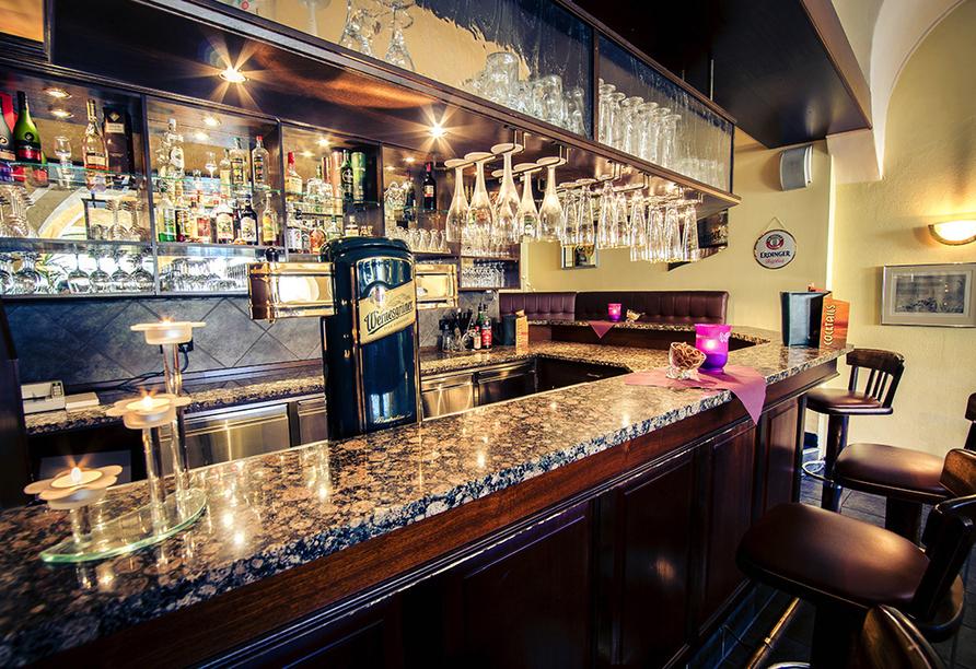 Traditionshotel Wilder Mann, Hotelbar