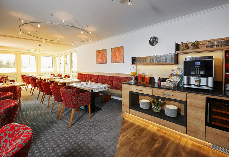 Hotel Edelweiss in Willingen, Lounge