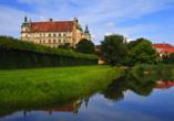 Hotel am Tierpark in Güstrow in Mecklenburg, Schloss Güstrow